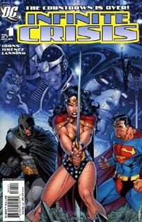 Infinite Crisis #1 (Jim Lee cover)