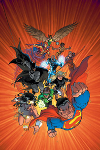 Justice League of America #2 cover (Turner version)