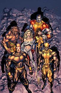X-Men: Phoenix: Warsong #1 cover (Silvestri version)