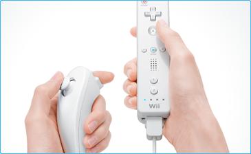 Wii nunchuka controller