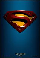 Superman Returns Teaser poster