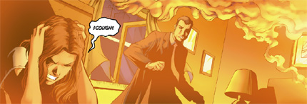 Nathan Petrelli from the Heroes on-line comic