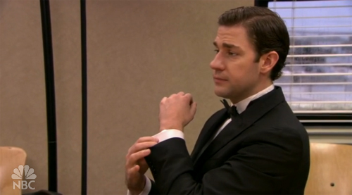 Classy Jim on The Office