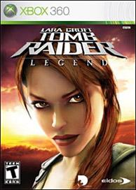 Lara Croft Tomb Raider: Legend box
